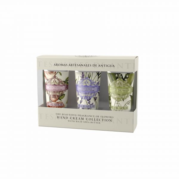 Triple AAA Floral Mini Hand Cream Set 3 x 20 g